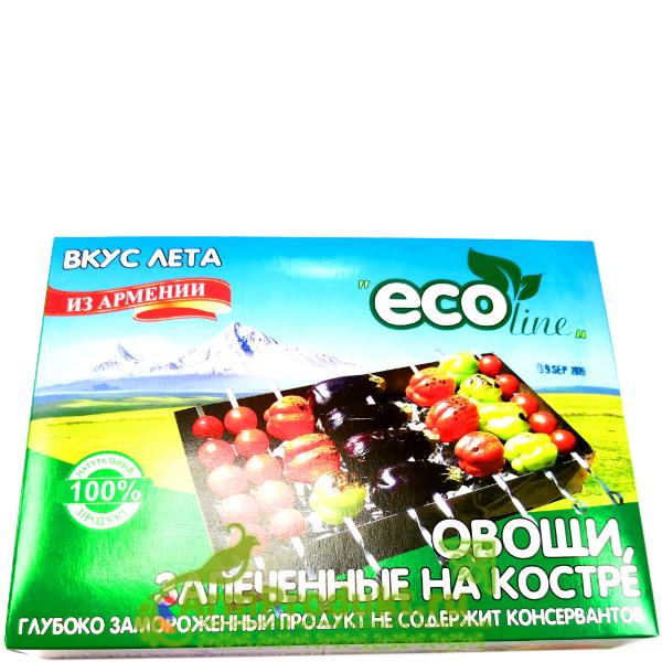 Запеченные Овощи на Костре ЗАМОРОЖЕННЫЕ EcoLine 1 кг.