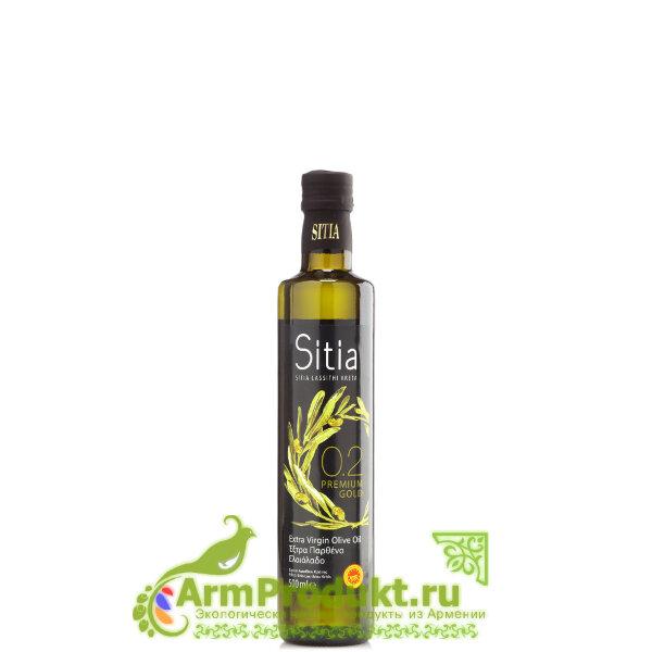 Оливковое масло Sitia (Сития) Экстра Вирджин PREMIUM GOLD кислотность 0,2% - 500 мл.