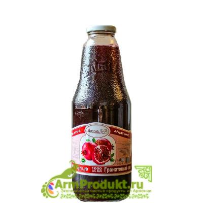 Гранатовый сок без сахара 1л. Арцах Фрут