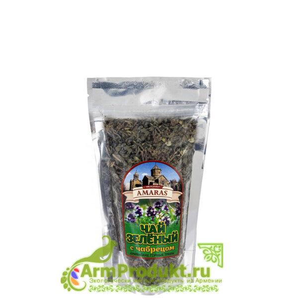 Чай Зелёный с Чабрецом 60гр. Амарас