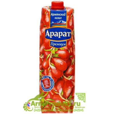 """Кизиловый Нектар с Мякотью """"Ararat Premium"""" 0.97л. тпа"""