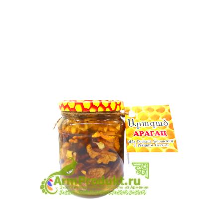 Мёд Горный Армянский с Грецким Орехом 350гр.
