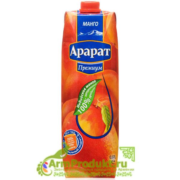 """Нектар Из Манго """"Ararat Premium"""" 0.97л. Тпа"""