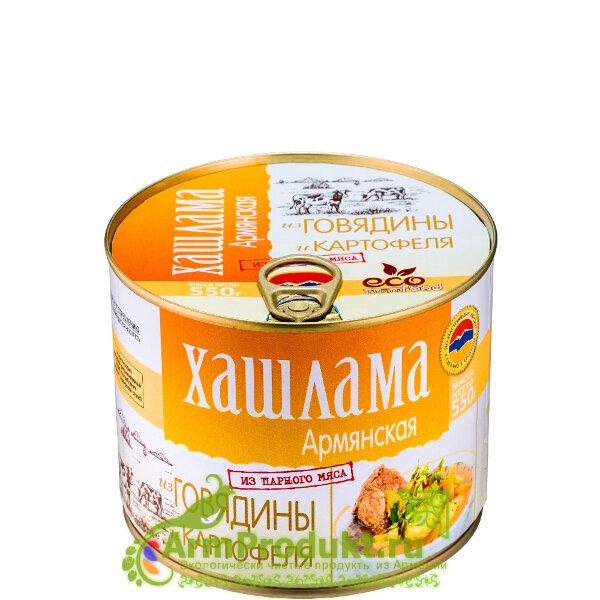 Хашлама Армянская из Говядины и Картофеля 550г EcoFood