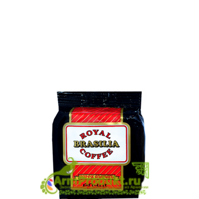 Кофе Роял Бразилия Прессованный 100 гр.