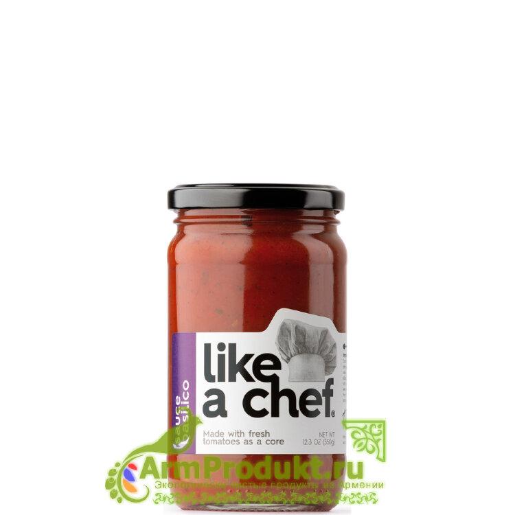 Соус Basilico 350гр. Like a chef