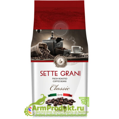 Кофе Зерновой Sette Grani 1000гр.
