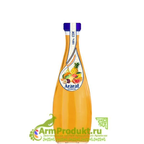 """Мультифруктовый Сок """"Ararat Premium"""" 0,75л. Ст."""