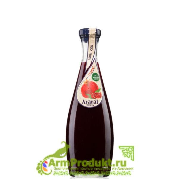 """Гранатовый Сок Прямого Отжима """"Ararat Premium"""" 0,75л. Ст."""