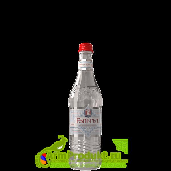 Вода Бюрег Негазированная 0,5л. стекло