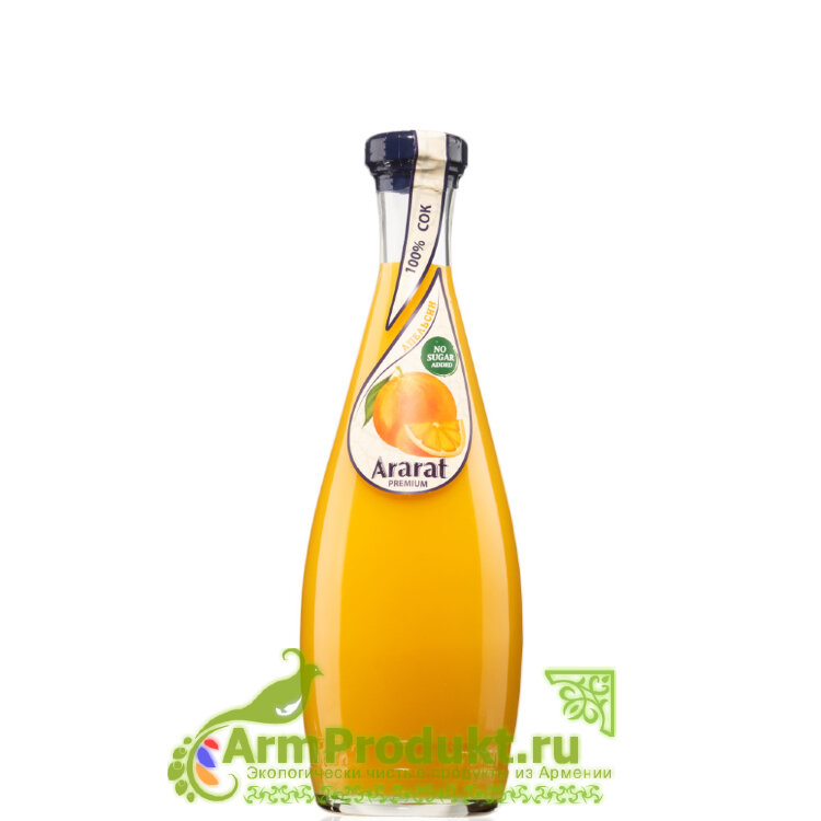 """Апельсиновый Сок """"Ararat Premium"""" 0,75л. Ст."""