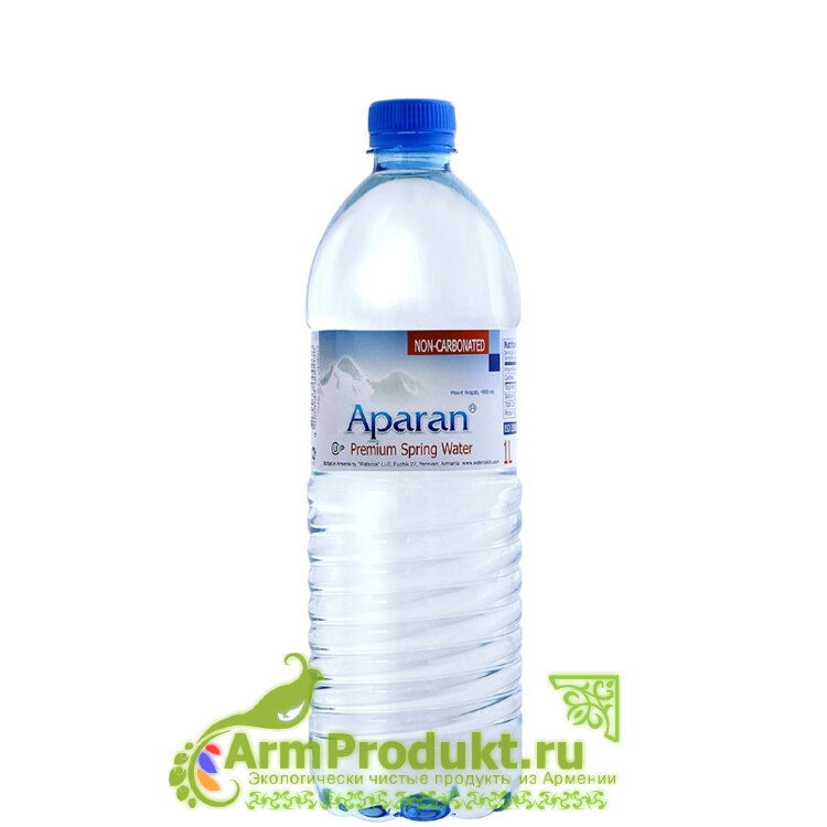 Родниковая вода Апаран 1л. пэт