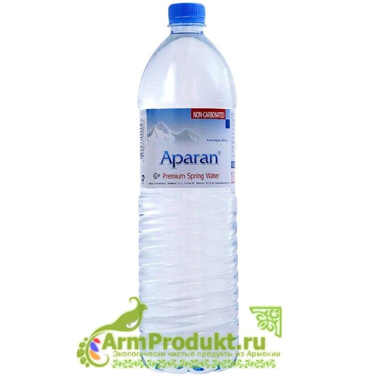 Родниковая вода Апаран 1,5л. пэт