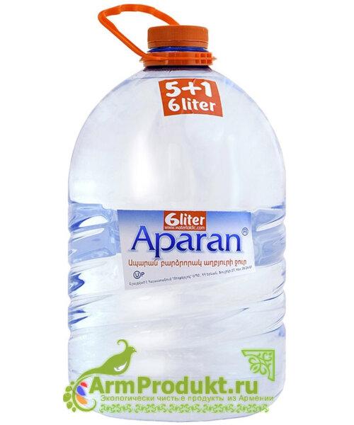 Родниковая вода Апаран 6л. пэт