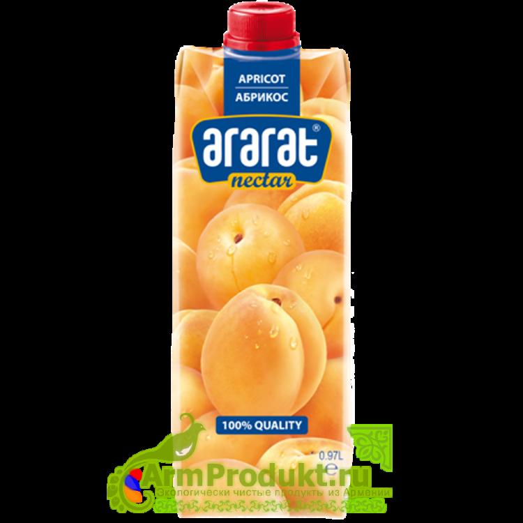 """Нектар Абрикосовый """"Ararat Premium"""" 0.97л. тпа"""