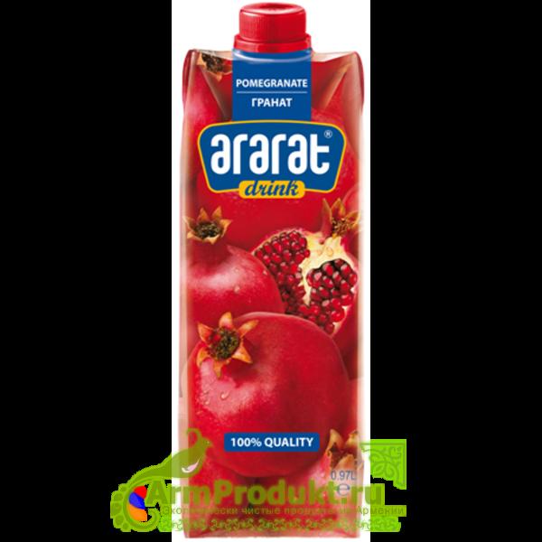 """Напиток Гранатовый """"Ararat Premium"""" 0.97л. тпа"""