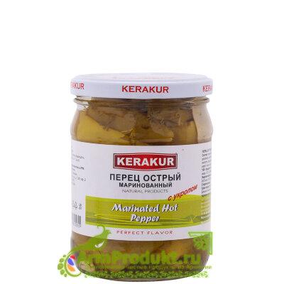 Перец Острый Маринованный с Укропом 500гр. KERAKUR