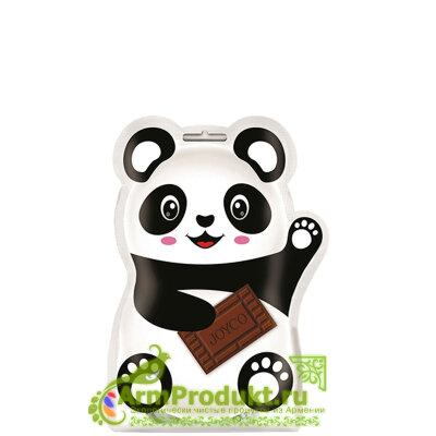 Шоколадные молочные драже «Панда» 150г Grand Candy