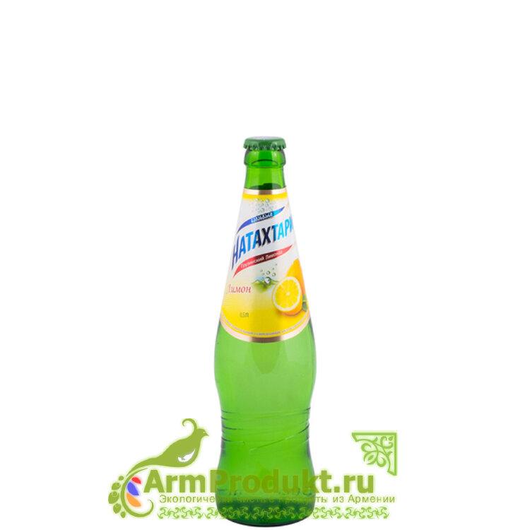 Лимонад Натахтари Лимон стекло 0,5л.