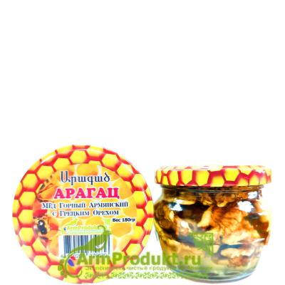 Мёд Горный Армянский с Грецким Орехом 180гр.